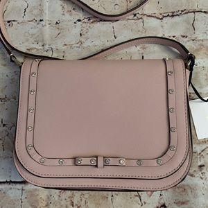 Kate Spade pink rhinestone bow crossbody bag purse